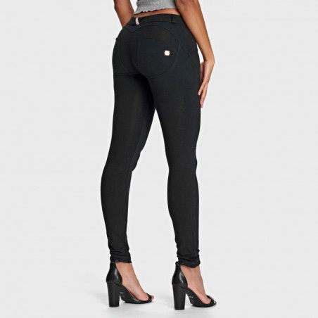 WR.UP LOW WAIST SKINNY - N0 - BLACK