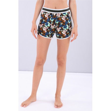 Yoga Shorts - Made in Italy - BMP - Floral