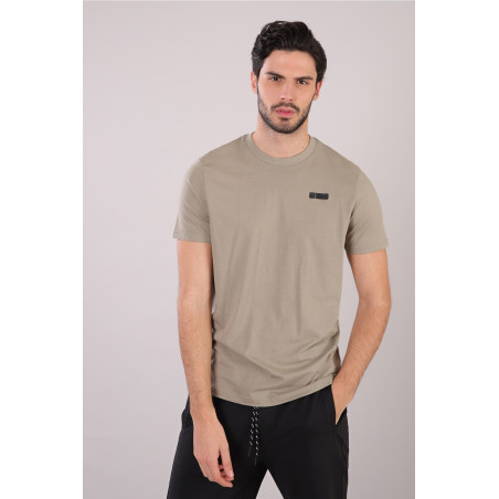 Cotton T-Shirt - V57 - Vetiver