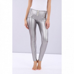 WR.UP® - REGULAR WAIST SKINNY - TWO-TONE MELANGE - H80L77 - GREY
