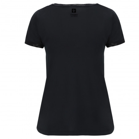 T-Shirt With Round Neck And Freddy Logo - N - Black
