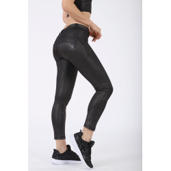 WR.UP REGULAR WAIST SKINNY VELVET - N0 - BLACK
