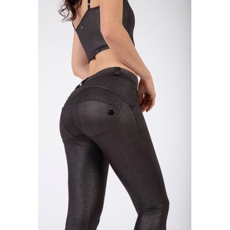 WRUP® Regular Waist Skinny - Metallic Jersey - G109 -