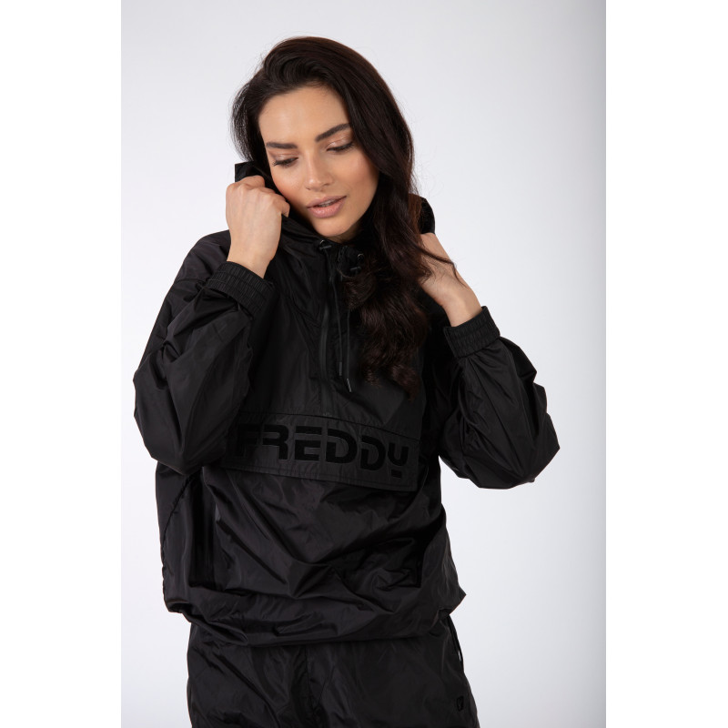 SUPERFIT - 7/8 - WITH DRAWSTRING AND PIPING - NA99 - BLACK & ORANGE