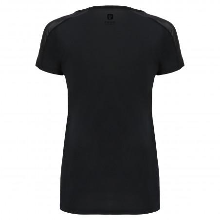 Freddy Performance Fabric T-Shirt - Mesh Inserts - N - Black