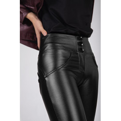 WR.UP HIGH WAIST SKINNY - MADE IN ITALY - G36 - SILVER FILIGREE