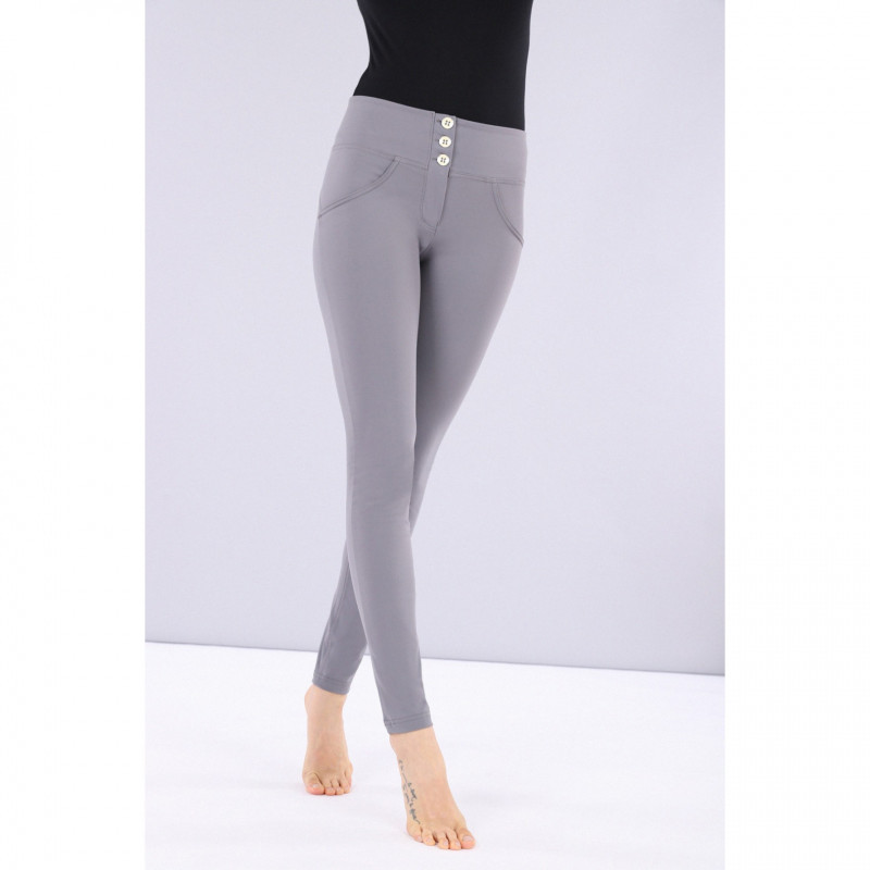 SUPERFIT LEGGINS D.I.W.O - 7/8 LENGHT - REGULAR WAIST SKINNY - N0 - BLACK
