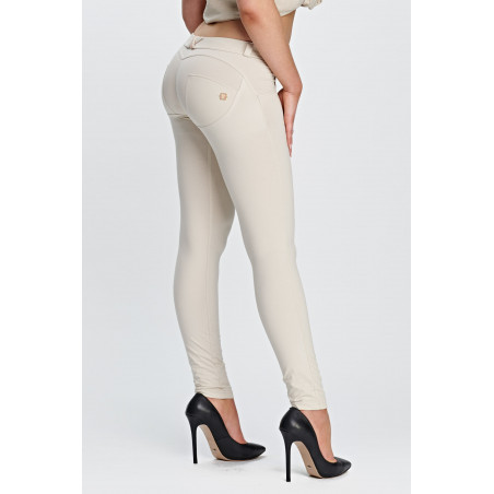 WR.UP LOW WAIST SKINNY - Z64 - LIGHT BEIGE