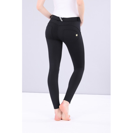 WR.UP D.I.W.O PRO - REGULAR WAIST SUPER SKINNY - 7/8 LENGTH - N0 - BLACK
