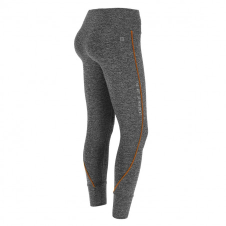 D.I.W.O SUPERFIT - 7/8 - MELANGE BLACK - ORANGE DETAILING