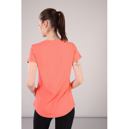 T-SHIRT - REGULAR FIT - A10 - FUSION CORAL