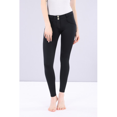 WR.UP D.I.W.O - REGULAR WAIST SUPER SKINNY - N0 - BLACK